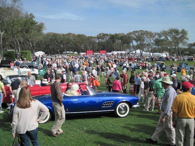 The Amelia Concours - Amelia car show